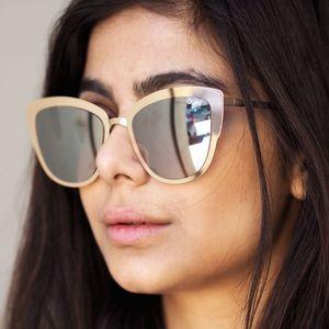 0f8b26a2a6 Quay Australia Accessories - Quay supergirl Gold Cat eye sunglasses